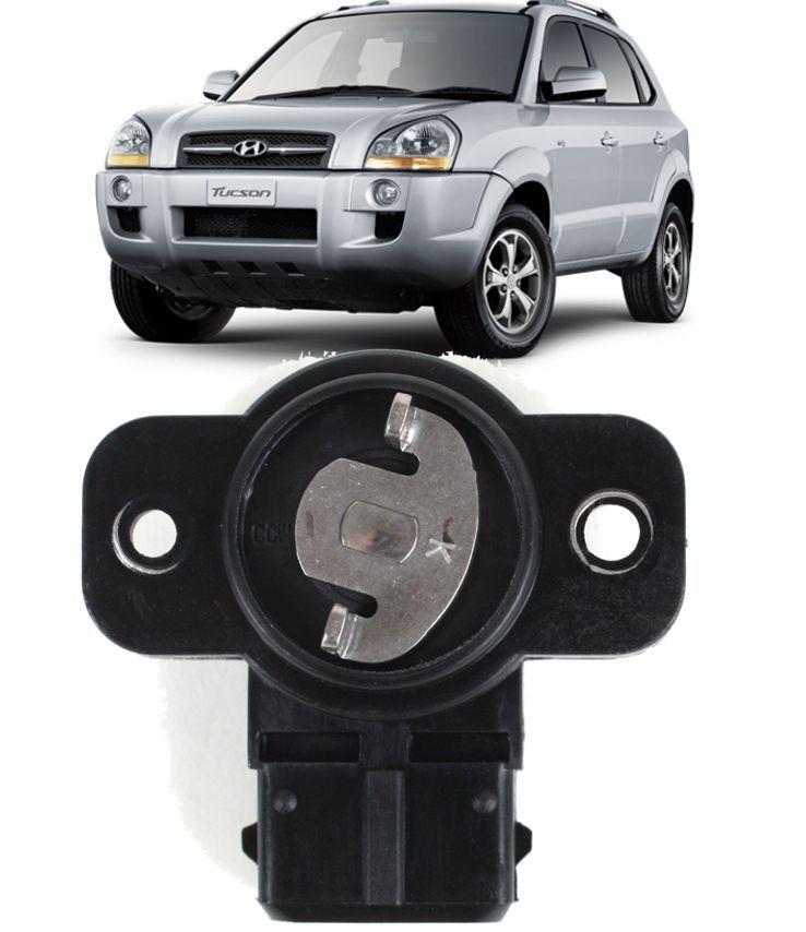 Sensor De Posicao Borboleta Tps Atos Prime Tucson Sportage 2.7 V6 2006 a 2010