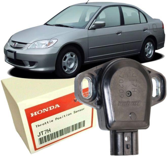 Sensor de Posicao Borboleta Tps Civic 1.7 de 2001 a 2005 - JT7H Original Keihin