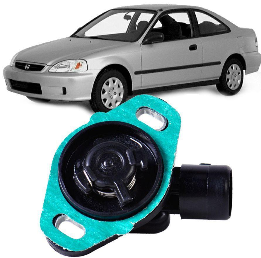 Sensor de Posicao Borboleta TPS Honda Civic 1992 a 2000 Accord e CRV