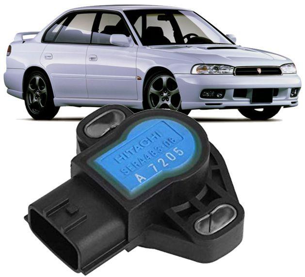 Sensor de Posicao Borboleta TPS Legacy Impreza Forester Suzuki Vitara Sidekick - Hitachi SERA483-06