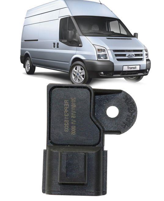Sensor de Pressao da Turbina Ford Transit 2.2 e 2.4 Diesel de 2008 a 2014 - 0261230224
