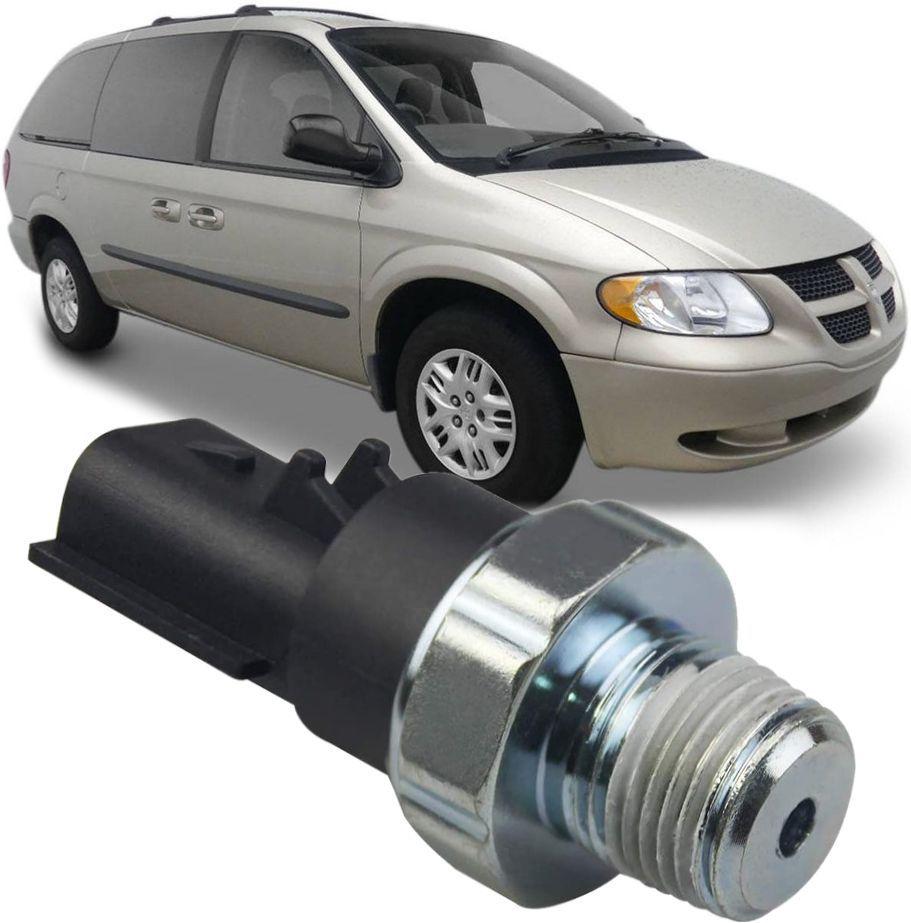 Sensor De Pressao de Oleo Grand Caravan 3.3 6cc e 3.8 6cc de 1996 a 2004