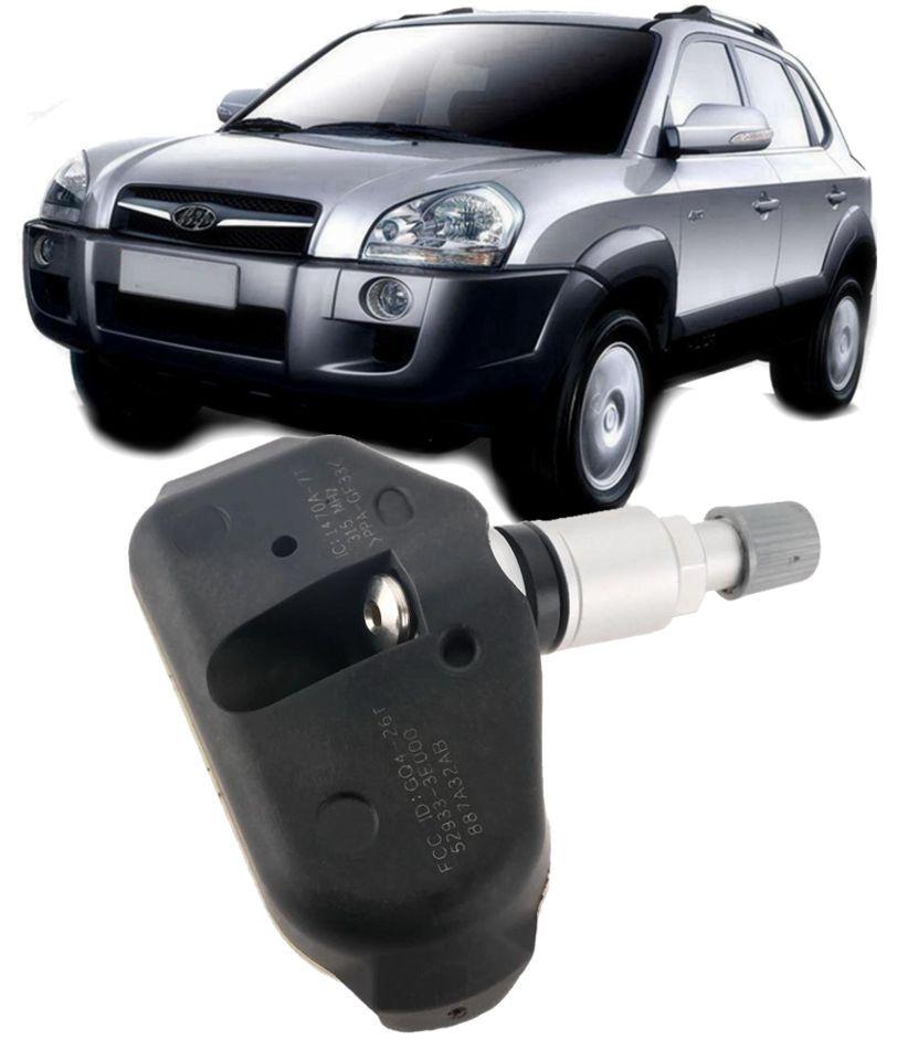 Sensor de Pressao do Pneu TPMS Tucson Sorento Sportage Sonata Azera  Santa Fe 52933-3E000