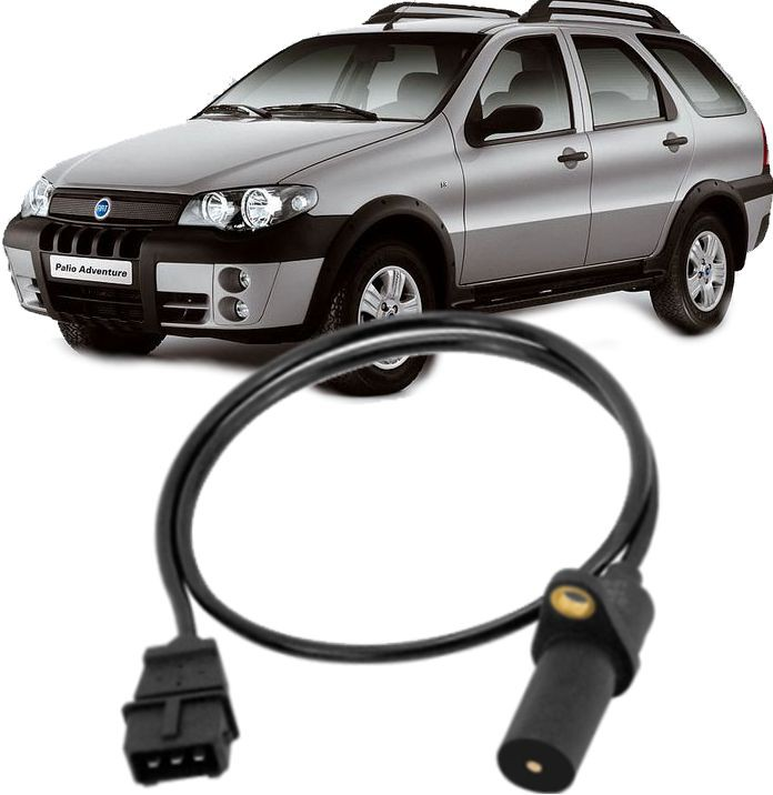 Sensor de Rotacao Doblo Idea Siena Strada Palio Weekend Stilo 1.8 8V Flex de 2003 à 2010