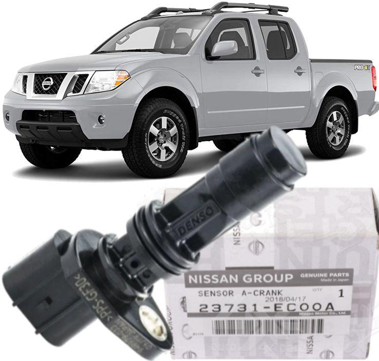 Sensor De Rotacao Frontier 2.5 16v Diesel De 2008 À 2016  23731ec001a  - Original