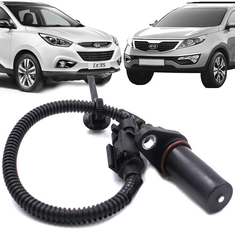 Sensor de Rotacao Hyundai Ix35 e Kia Sportage 2.0 16V Flex 178cv de 2012 a 2016