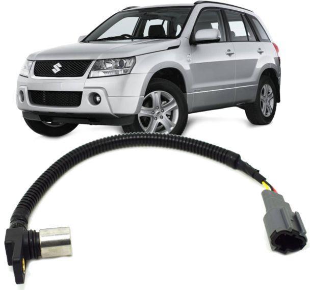 Sensor de Rotação Virabrequim Vitara e Tracker 2.0 16v Gasolina de 1998 à 2015