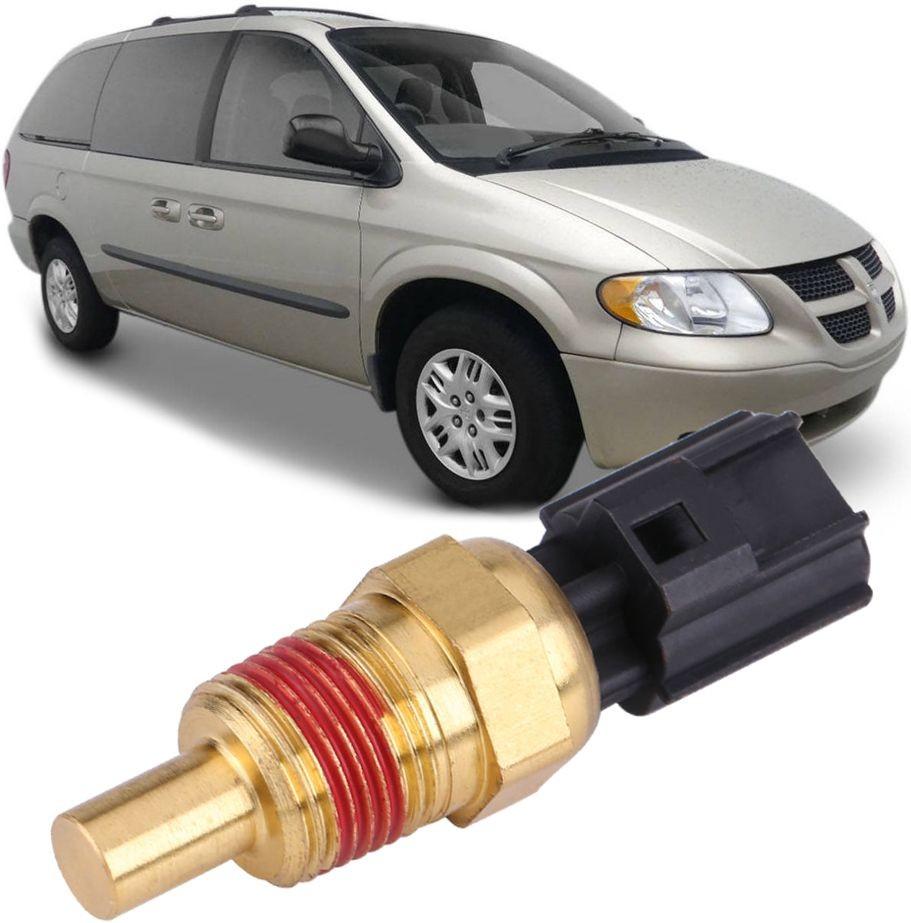 Sensor De Temperatura Agua Do Motor Stratus Cherokee Dakota - 56027873