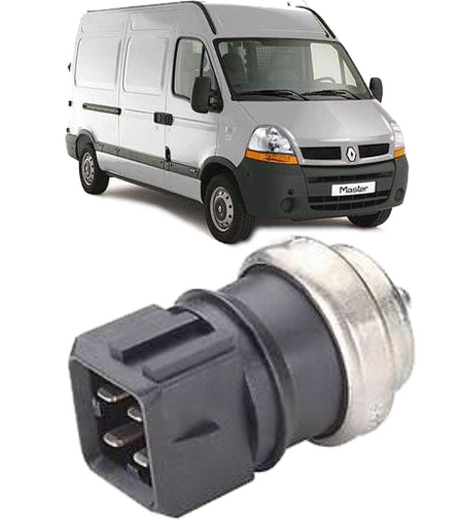 Sensor de Temperatura da Injecao Renault Master 2.5 16V Dci Diesel 2005 a 2013