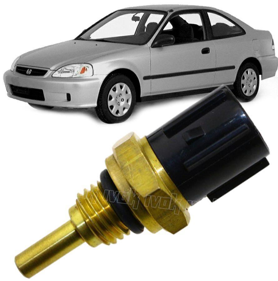 Sensor de Temperatura de Agua Honda Civic 1.5 e 1.6 16v De 1992 A 2000