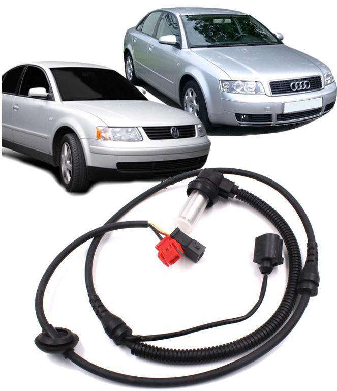 Sensor Freio Abs Audi A4 A6 Passat Dianteiro 8d0927803d 4b0927803c