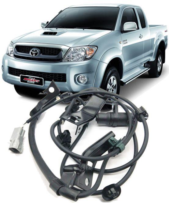 Sensor Freio ABS Dianteiro Direito Hilux e SW4 3.0 e 2.5 Diesel e 2.7 Flex de 2005 à 2011 - 89542-0K020