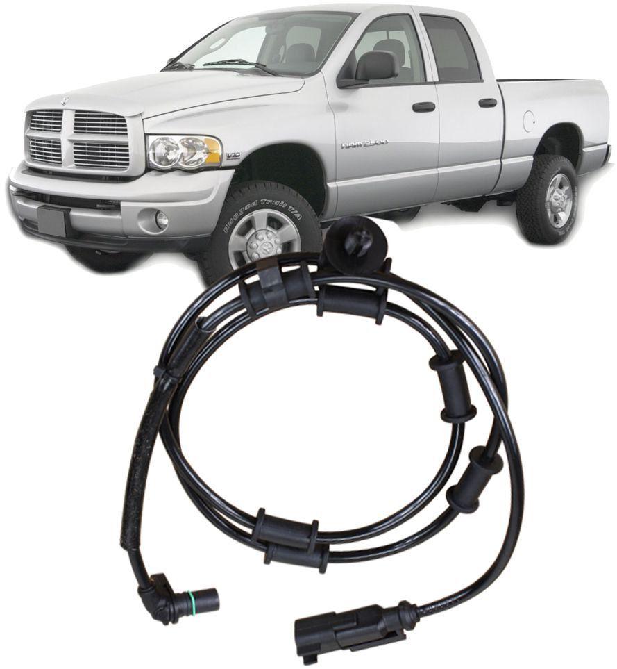 Sensor Freio Abs Dianteiro Dodge Ram 2500 5.9 L6 a Diesel Direito ou Esquerdo de 2006 a 2008