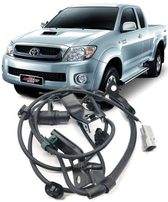 Sensor Freio ABS Dianteiro Esquerdo Hilux e SW4 3.0 e 2.5 Diesel e 2.7 Flex de 2005 à 2011 - 89543-0K020