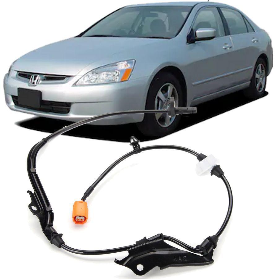 Sensor Freio Abs Dianteiro Esquerdo Honda Accord 2.4 e 3.0 V6 de 2003 a 2008