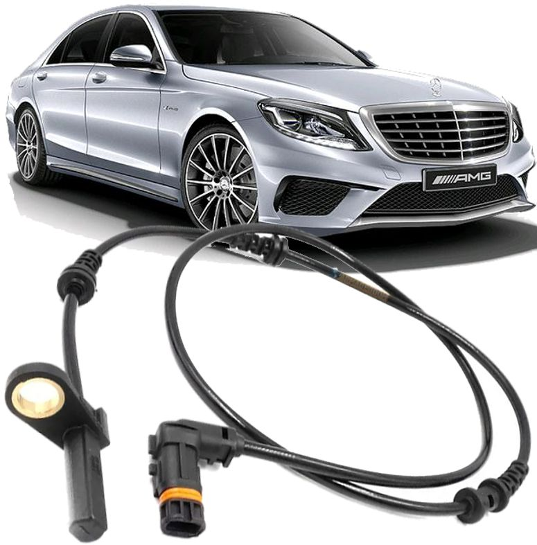 Sensor Freio Abs Dianteiro Mercedes S63 Amg S550 S600 Cl550 W221 W216 2007 a 2012 - 2215400317