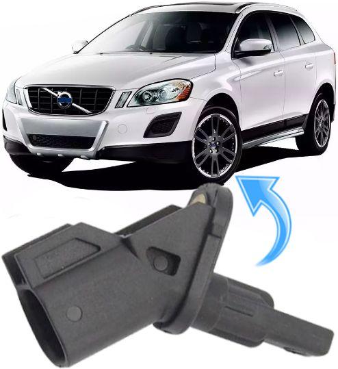 Sensor Freio Abs Dianteiro Volvo Xc60 C30 C70 S40 V50 6g9n-2b372-Cb - Ld Esquerdo