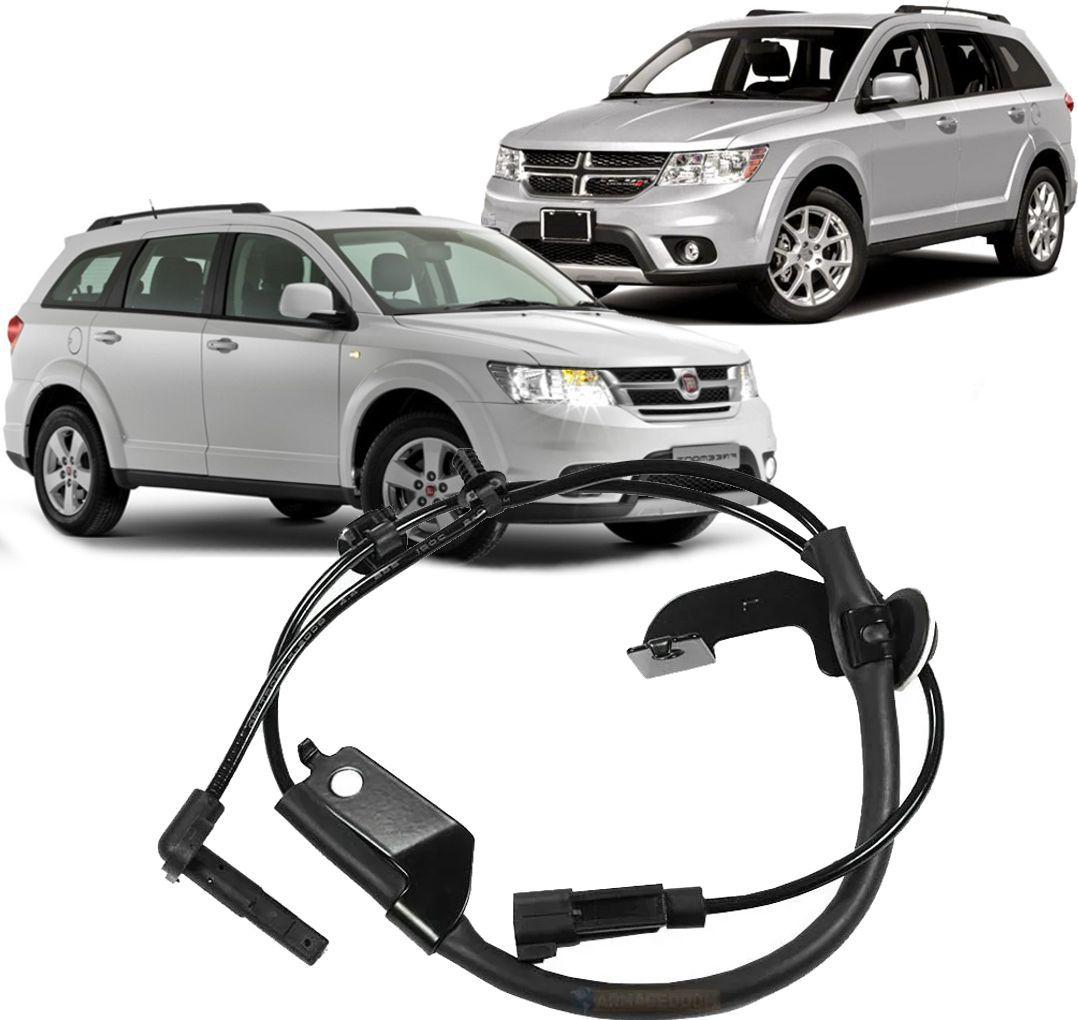 Sensor Freio Abs Dodge Journey 2.7 V6 Freemont 2.4 2008 a 2015 Dianteiro Esquerdo