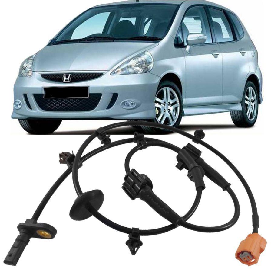 Sensor Freio Abs Honda Fit 1.4 8V e 1.5 16V 2003 a 2008 Dianteiro Esquerdo
