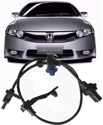 Sensor Freio Abs Honda New Civic 1.8 16V e 2.0 SI de 2006 a 2011 Traseiro