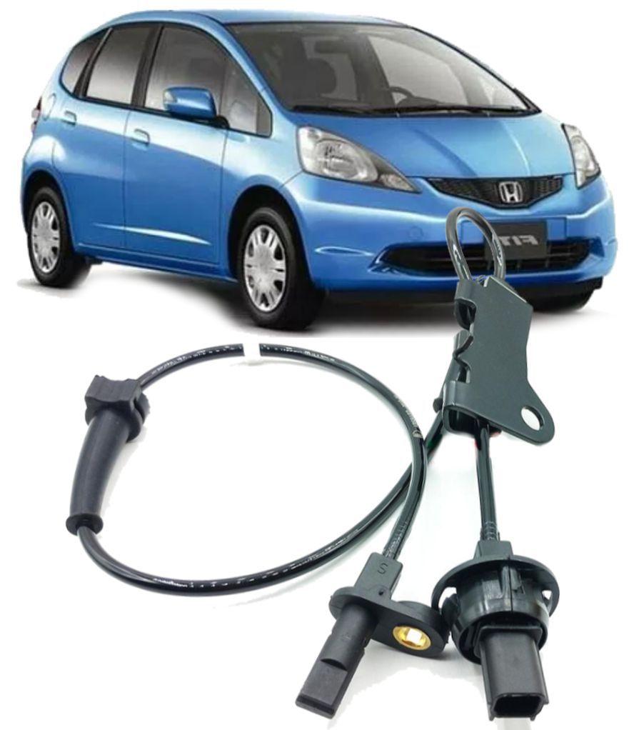 Sensor Freio Abs Honda New Fit 2009 A 2013 Dianteiro Direito