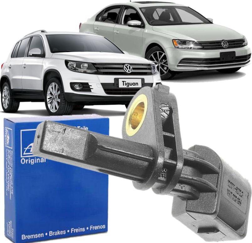 Sensor de Freio ABS Jetta Tiguan Passat Audi A3 Q5 Dianteiro Direito Original - Wht003856