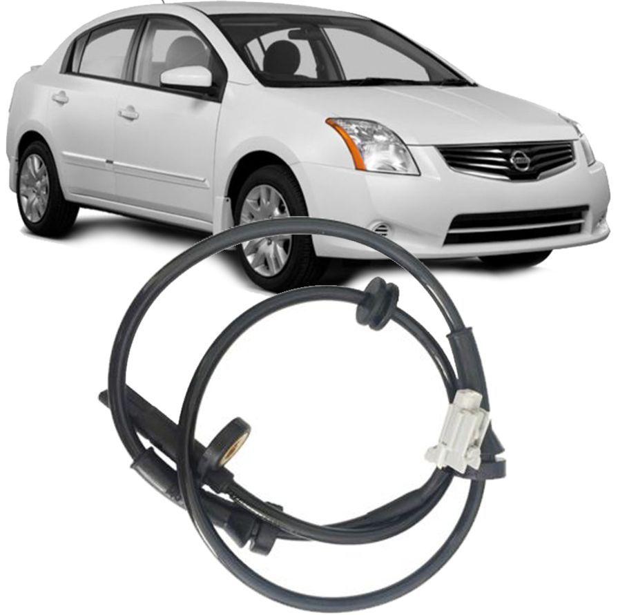 Sensor Freio ABS Nissan Sentra 2.0 16V 2007 a 2012 Dianteiro Direito