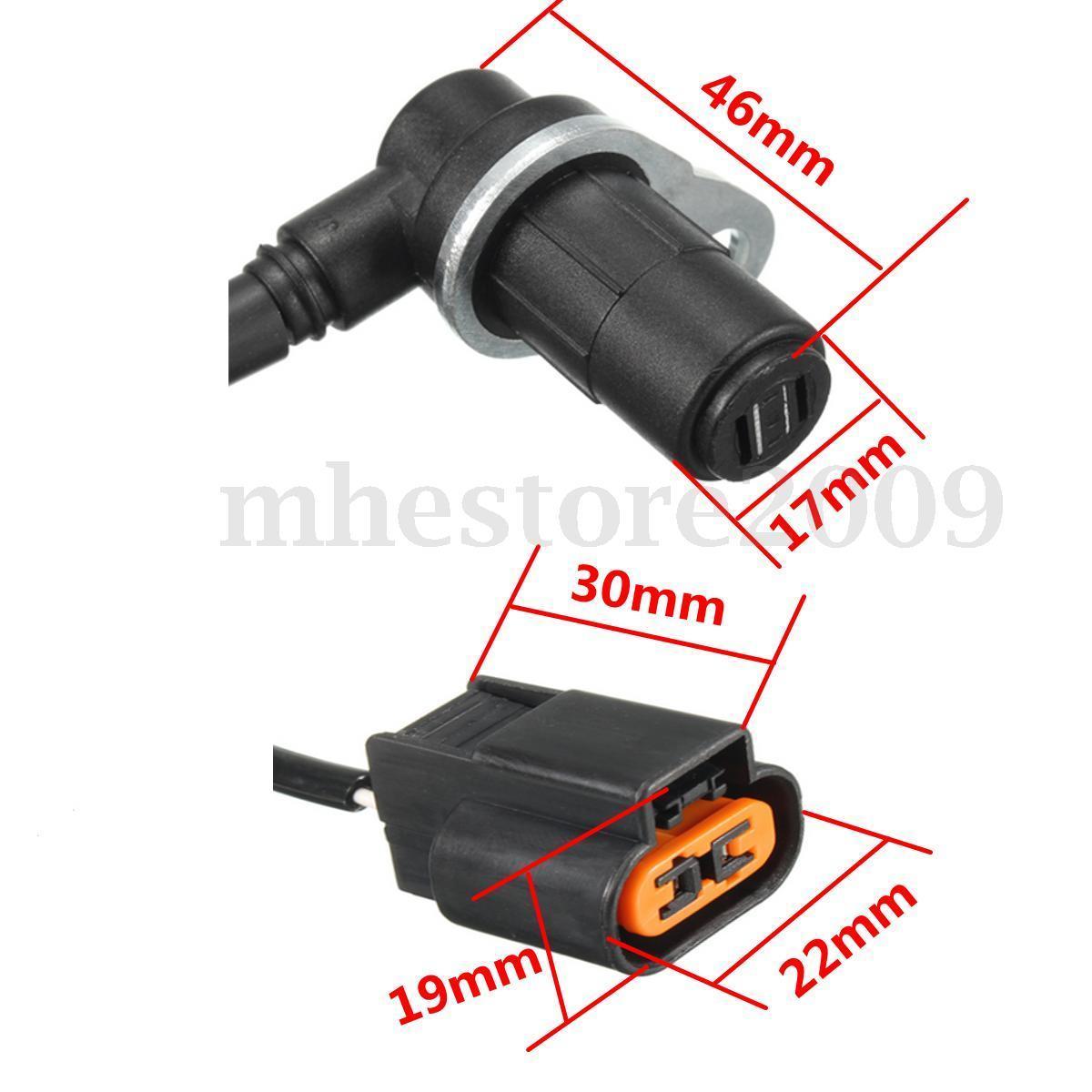 Sensor Freio Abs Pajero Full E Sport Dianteiro Lado Direito Motor 3.0 3.5 3.8 de 2000 a 2007 Mr569412