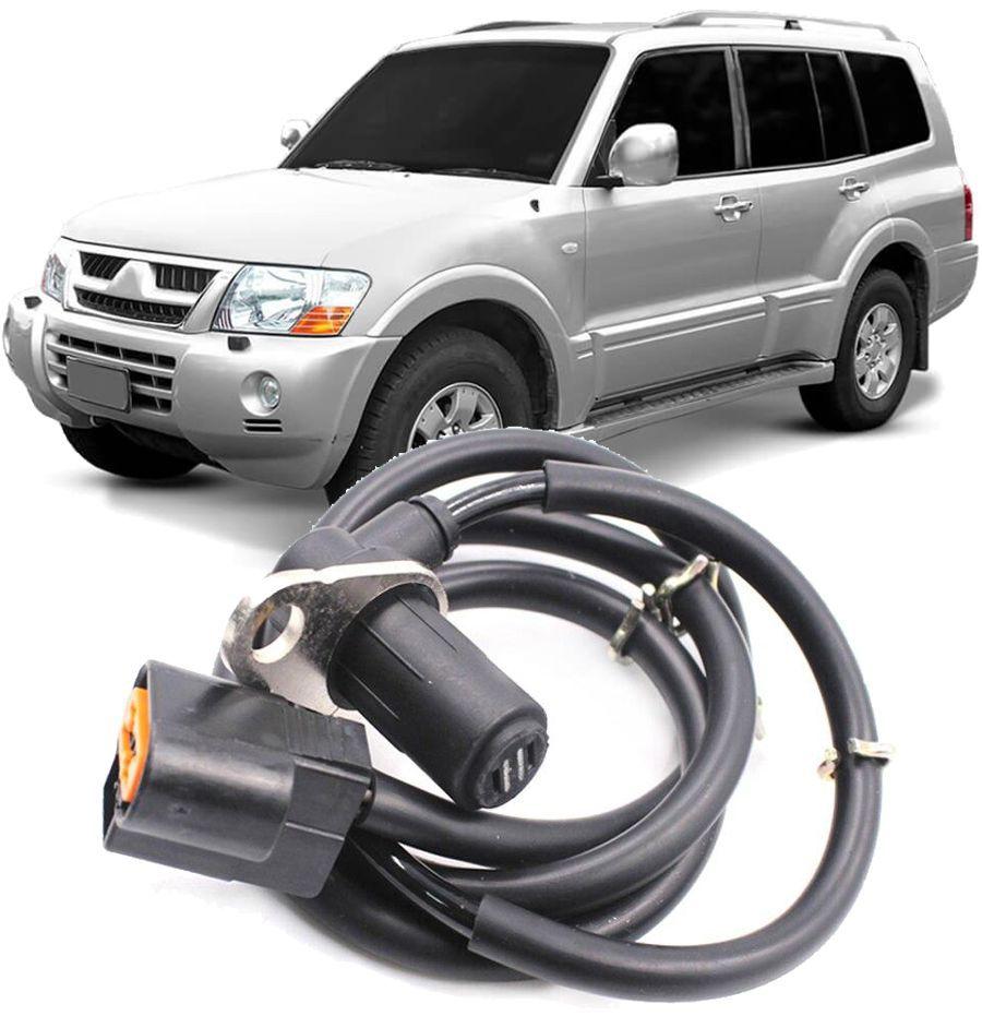 Sensor Freio Abs Pajero Full E Sport Dianteiro Lado Esquerdo Motor 3.0 3.5 3.8 de 2000 a 2007 Mr569411