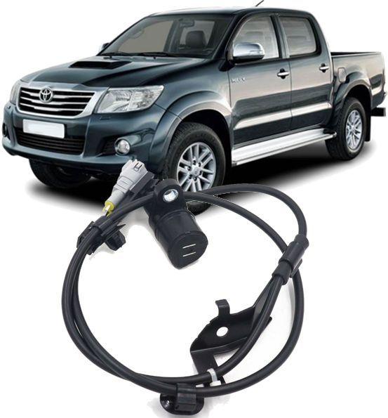 Sensor Freio ABS Traseiro Esquerdo Hilux e SW4 3.0 e 2.5 Diesel e 2.7 Flex de 2012 à 2015 - 89546-0K070