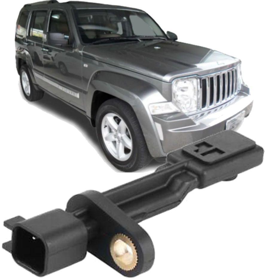 Sensor Freio Abs Traseiro Jeep Liberty e Wrangler 3.7 e 3.8 V6 2007 a 2015 52125003AB
