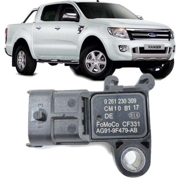 Sensor Map Ford Ranger 3.2 20V a Diesel Apos 2013 - 0261230309