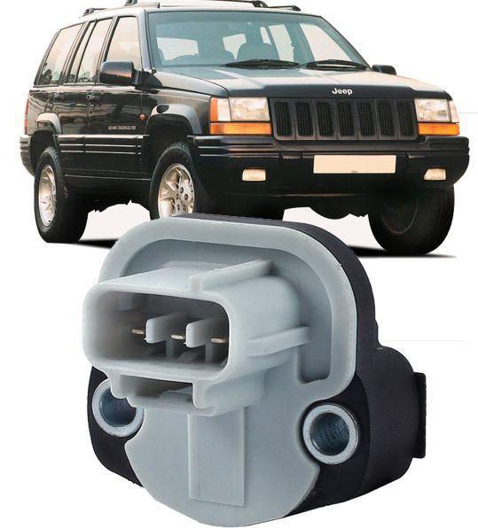 Sensor Posicao Borboleta TPS Jeep Grand Cherokee 5.2 E 5.9 V8