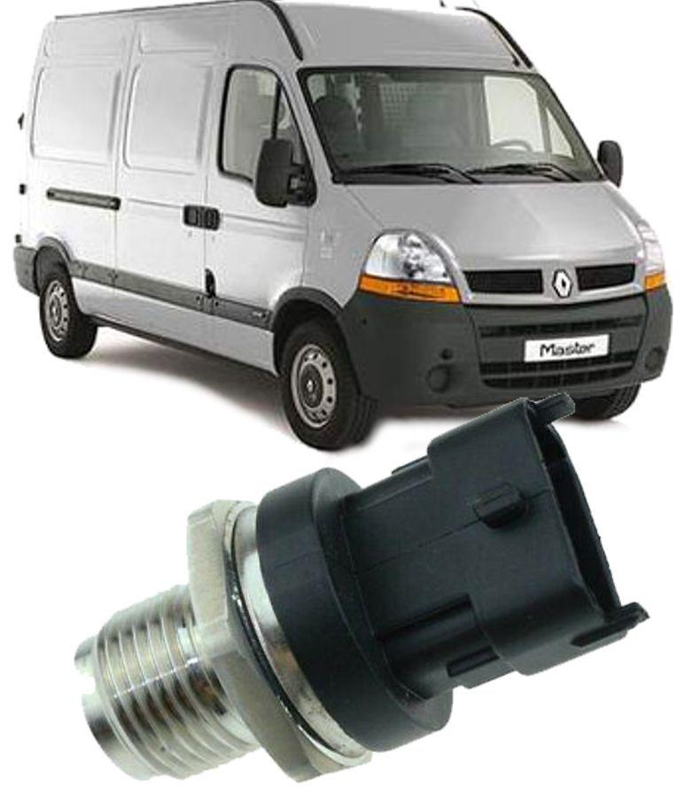 Sensor Pressao Flauta Common Rail Renault Master 2.5 16V DCI Diesel 2003 a 2015