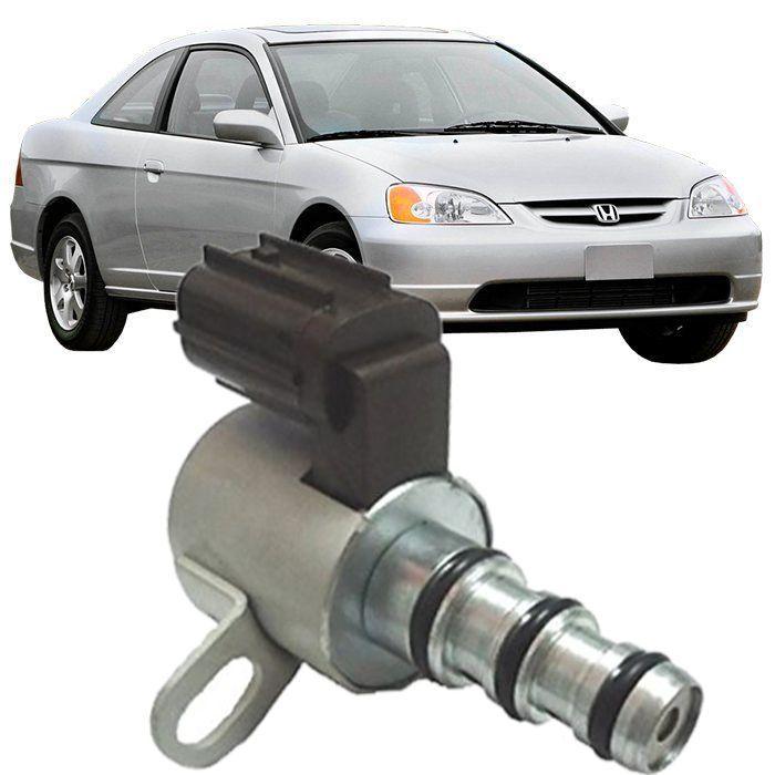 Sensor Solenoide Preto Transmissao Automatica Honda Civic 1.7 de 2001 à 2005