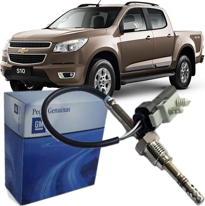 Sensor Temperatura Escape S10 2.8 Diesel 2.4 E 2.5 Flex De 2012 À 2020 - 55499996 Pre Catalizador