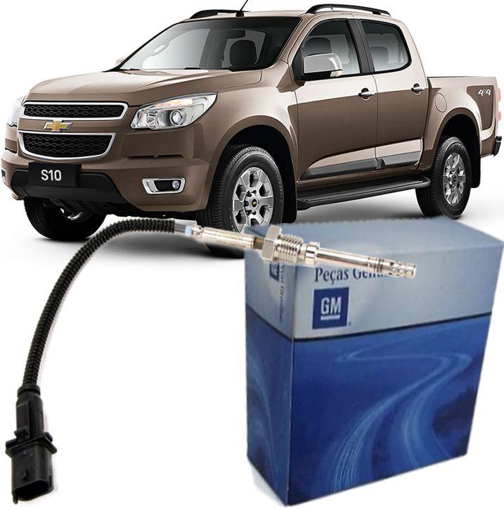 Sensor Temperatura Escape S10 2.8 Diesel 2.4 E 2.5 Flex De 2012 À 2020 - 55499997 Pos Catalizador