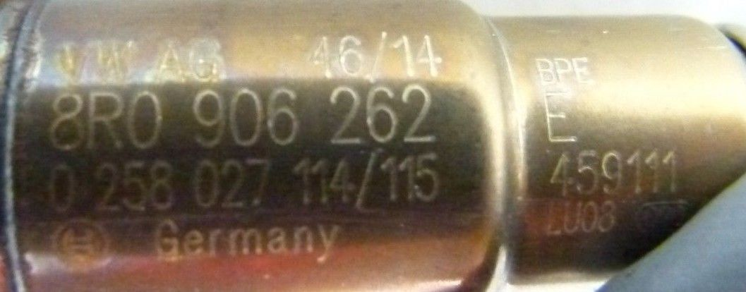 Sonda Lambda Audi A4 A6 A7 2.0 Tfsi Apos 2008 - 0258027114/115 8r0906262e