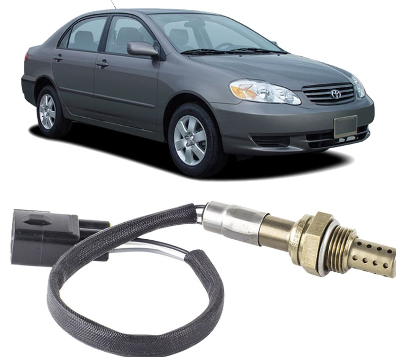 Sonda Lambda Corolla 1.8 16v e 1.6 16v De 2003 A 2008