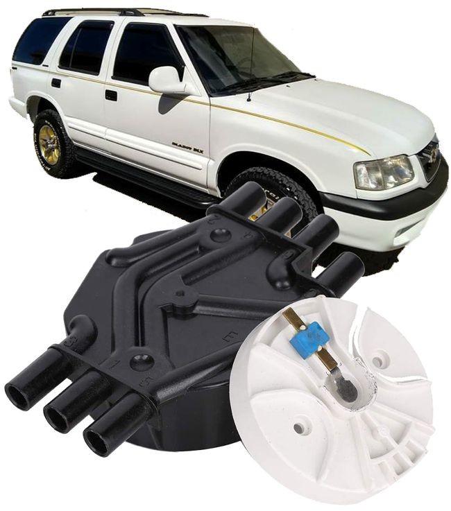 Tampa e Rotor Do Distribuidor Blazer E S10 4.3 V6 Vortec de 1996 à 2006