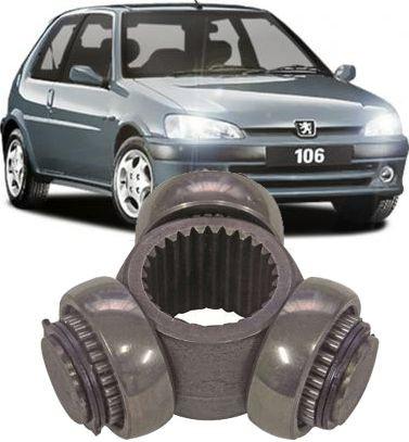 Trizeta do câmbio Peugeot 106 e  C3 1.4 8v de 2003 à 2009 - 27x28mm