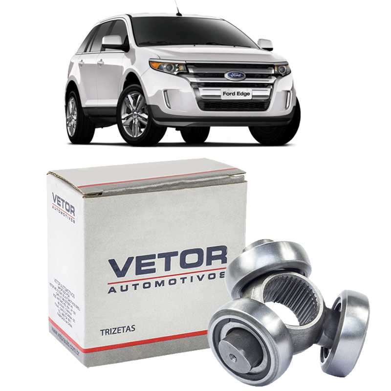 Trizeta Ford Edge 3.5 V6 Apos 2008 - 36x48mm