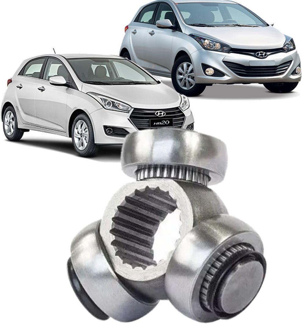 Trizeta Hyundai Hb20 1.0 12V 3cc Manual de 2012 a 2019 - 20x30mm