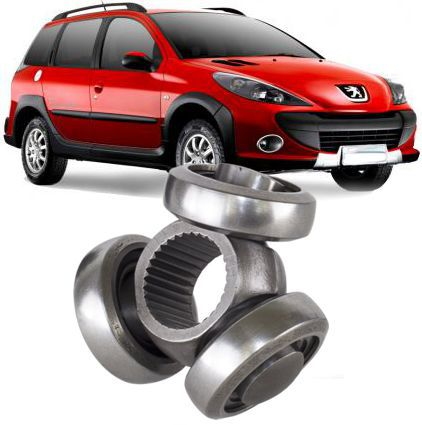 Trizeta Peugeot 206 207 Escapade 1.6 16v Flex Manual de 2006 A 2013 - 22x38mm