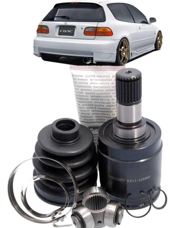 Tulipa Trizeta E Coifa Honda Civic 1.5 e 1.6 16V de 1991 ate 2000 com 25X30 Lado Esquerdo