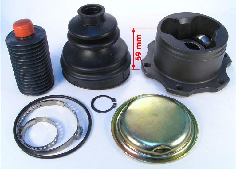 Tulipa Trizeta E Coifa Passat 1.8T 2.8 V6 Audi A4 e A6 1995 a 2001- 10mm