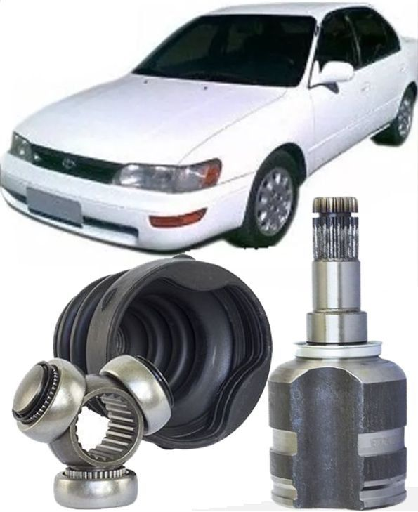 Tulipa Trizeta e Coifa Toyota Corolla 1.6 16V e 1.8 16V de 1992 ate 2002 Com 23X38mm na Trizeta