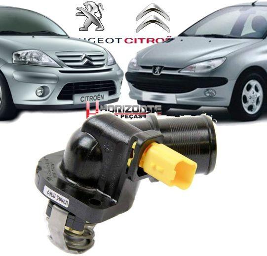 Valvula Termostatica C3 1.4 e Peugeot 207 1.4 8v Flex Original 9650926280