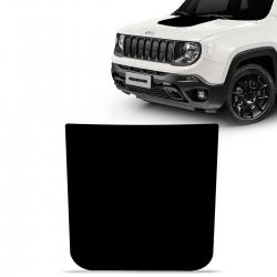 Adesivo Faixa de Capô Jeep Renegade 2016 a 2022 Blackout Preto
