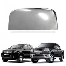 Aplique Capa de Retrovisor Cromado Ecosport 2003 a 2012 Ranger 2003 a 2005 Lado Esquerdo